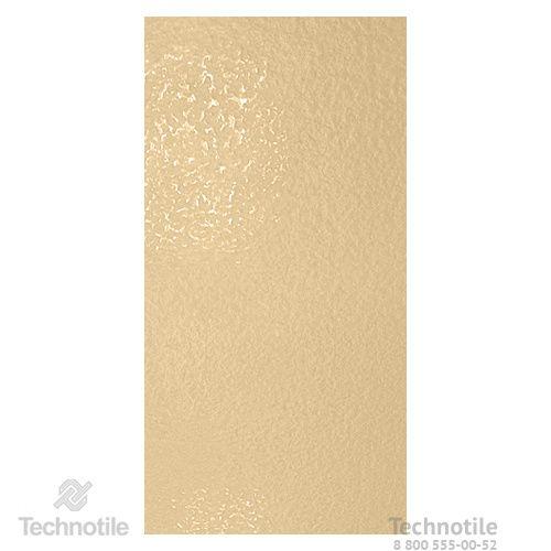 Плитка керамогранит Декор Желтый лаппатированный