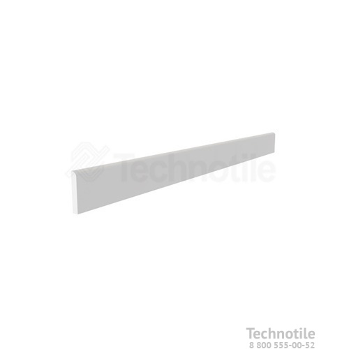 Плинтус керамогранит Моноколор CFUF002 Светло-серый матовый