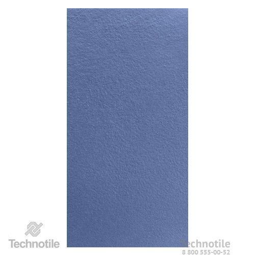 Плитка керамогранит Декор Синий структурный