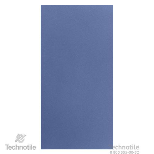Плитка керамогранит Декор Синий матовый