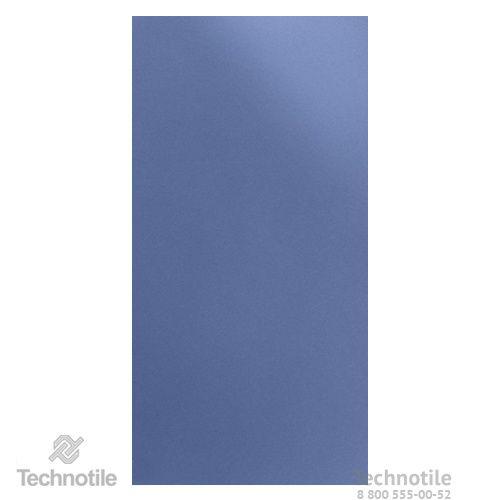Плитка керамогранит Декор Синий лаппатированный/полированный