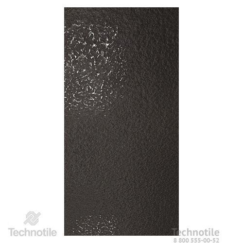 Плитка керамогранит Декор Неро лаппатированный